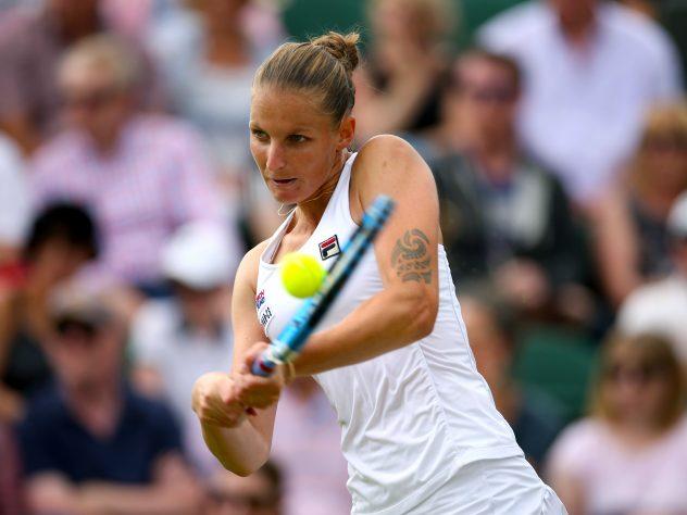 Karolina Pliskova is through to the quarter-finals