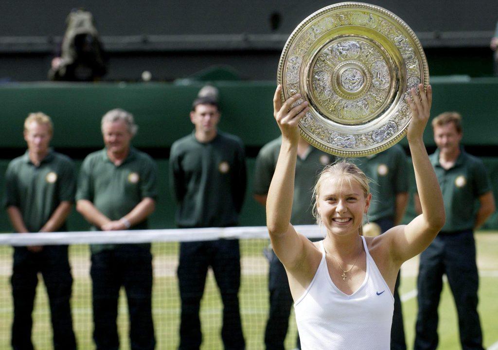Maria Sharapova Wimbledon champion