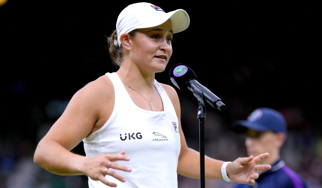 Ashleigh Barty post-match interview