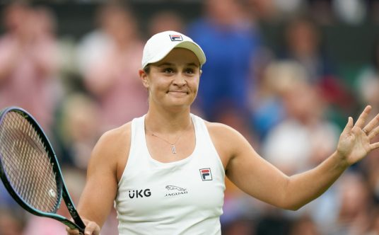 Ashleigh Barty pleased