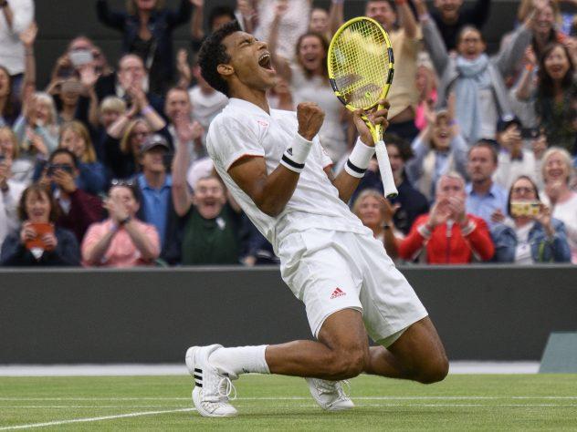 Felix Auger-Aliassime has enjoyed a fine run to the Wimbledon quarter-finals