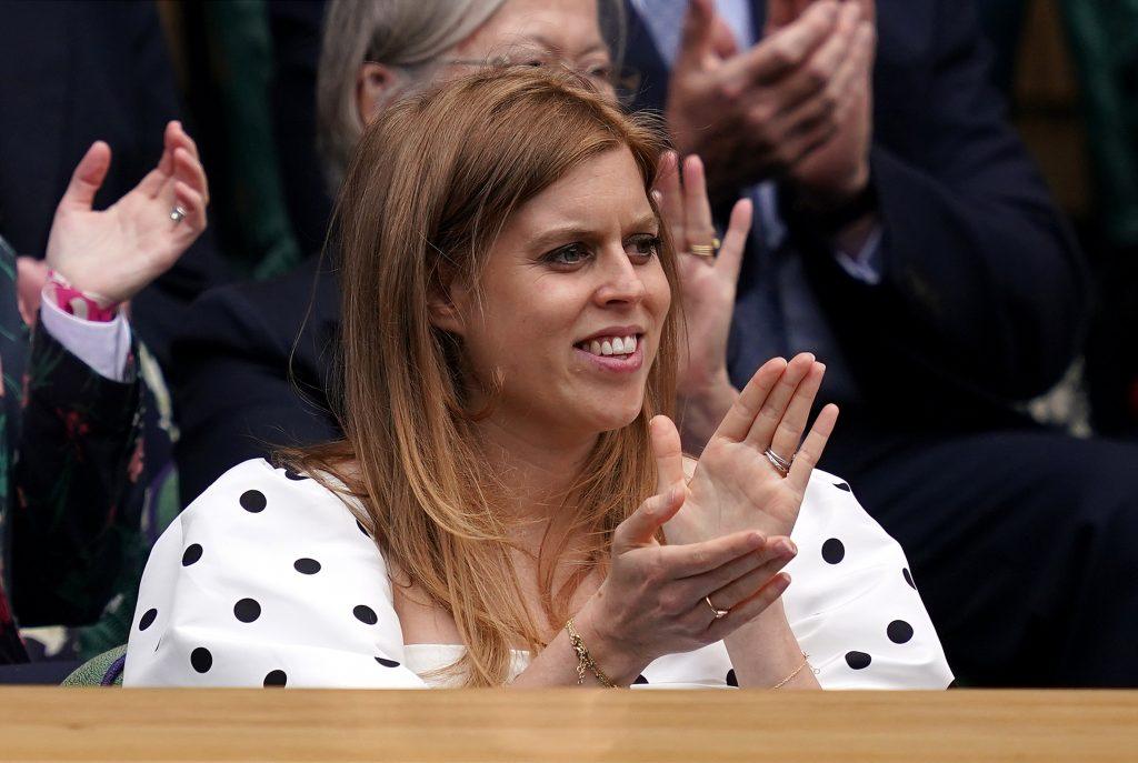 Princess Beatrice at Wimbledon
