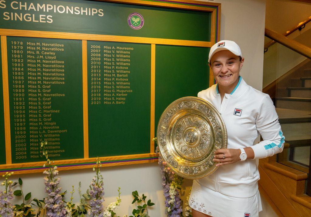 Ashleigh Barty Wimbledon Honours Board