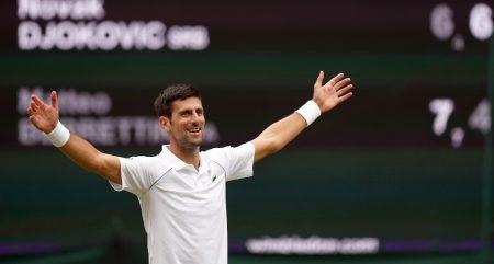 Novak Djokovic 2021 Wimbledon champion