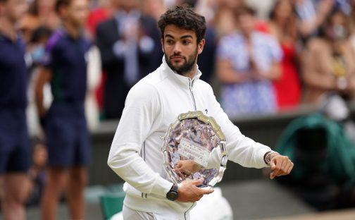 Matteo Berrettini Wimbledon runner-up