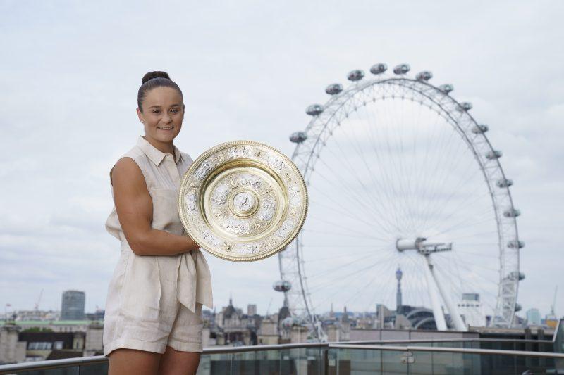 Ashleigh Barty Wimbledon champion