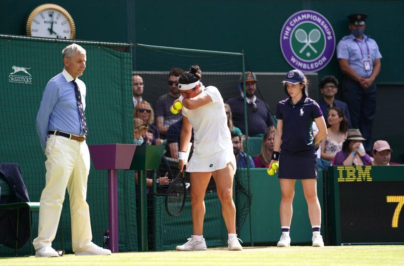 Ons Jabeur at Wimbledon