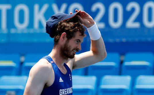 Andy Murray at the Tokyo Olympics.jpg