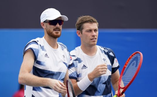 Jamie Murray and Neal Skupski at the Olympics