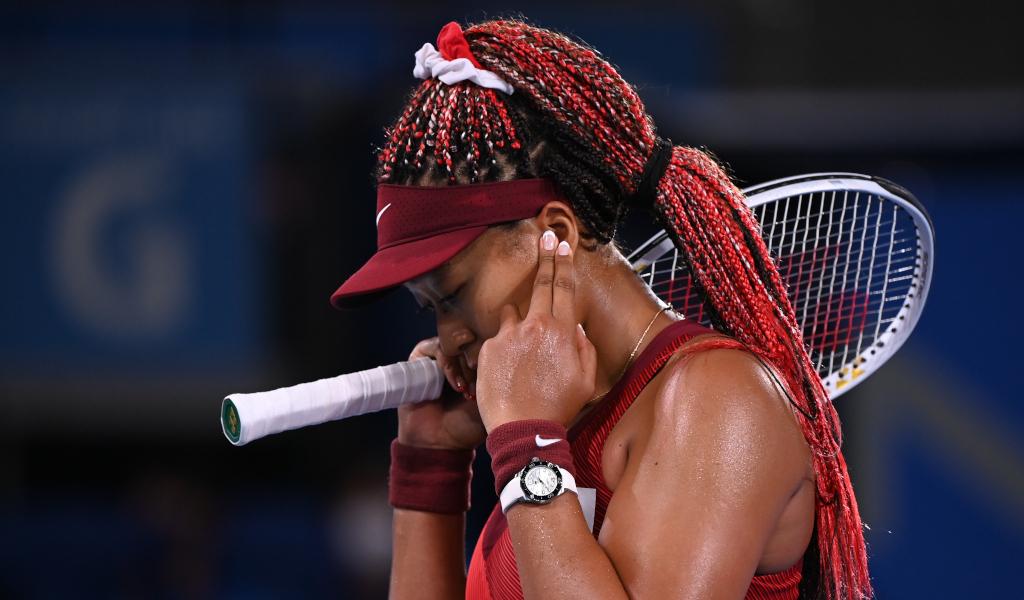 Naomi Osaka feeling the pressure