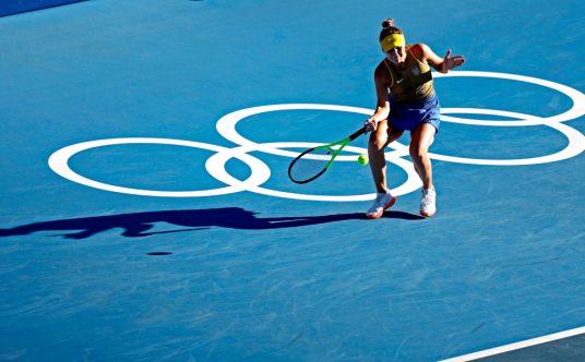 Elina Svitolina at the Tokyo Olympics