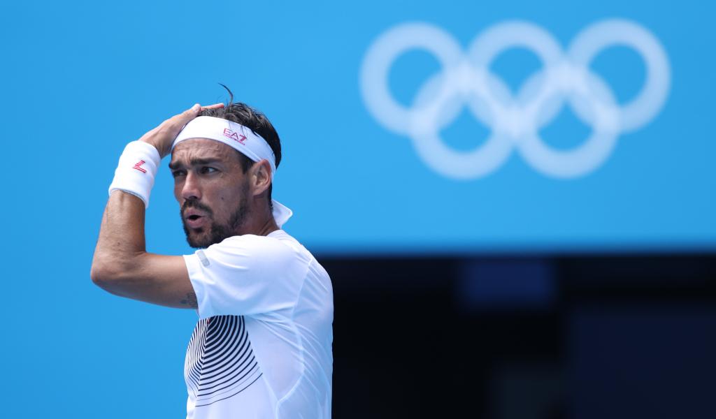 Fabio Fognini at the Olympics