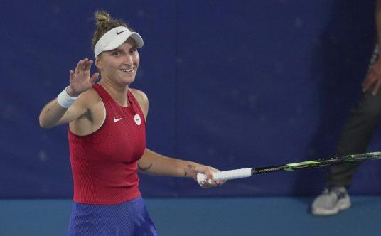 Delight for Marketa Vondrousova