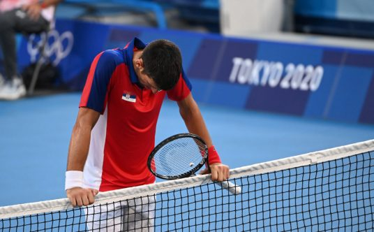 Novak Djokovic defeated at the Tokyo Olympics