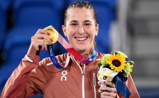 Belinda Bencic Tokyo Olympics gold medallist