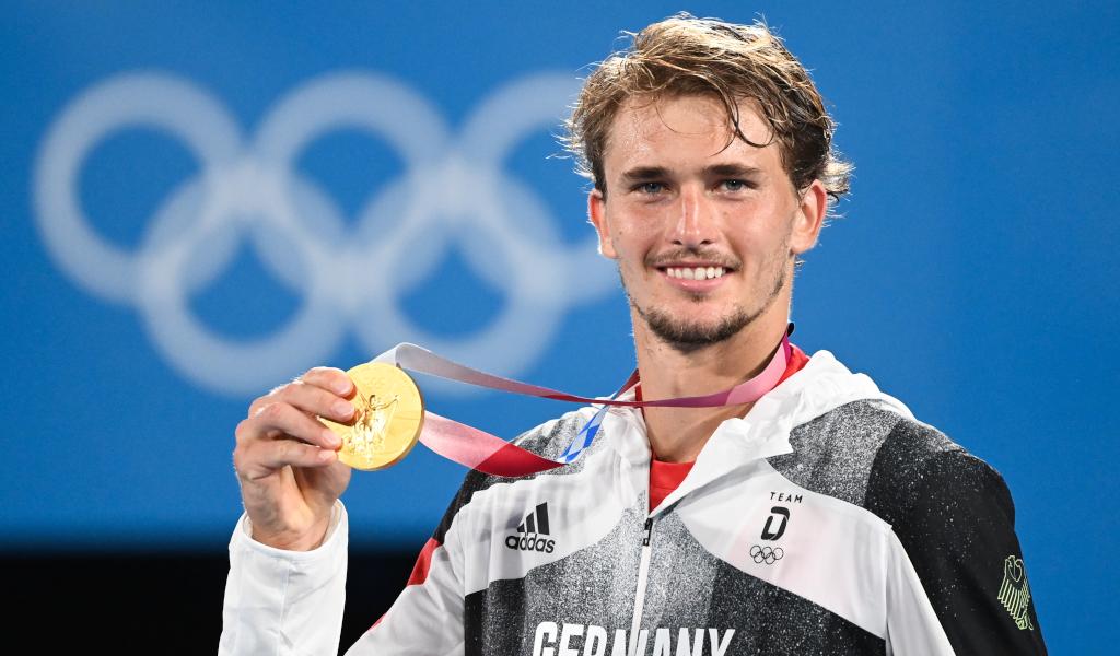 Alexander Zverev Tokyo Olympics gold medallist
