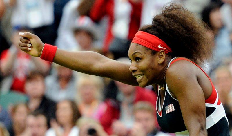 Serena Williams at the London Olympics