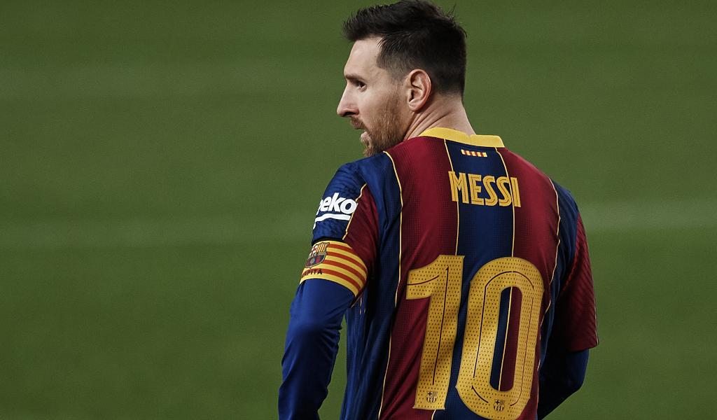 Lionel Messi at Barcelona