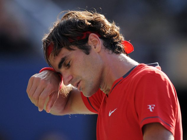 Federer ended 2011 without a grand slam title, losing in the US Open semi-finals to Novak Djokovic