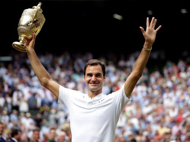 But 2017 brought a record eighth Wimbledon men's singles title