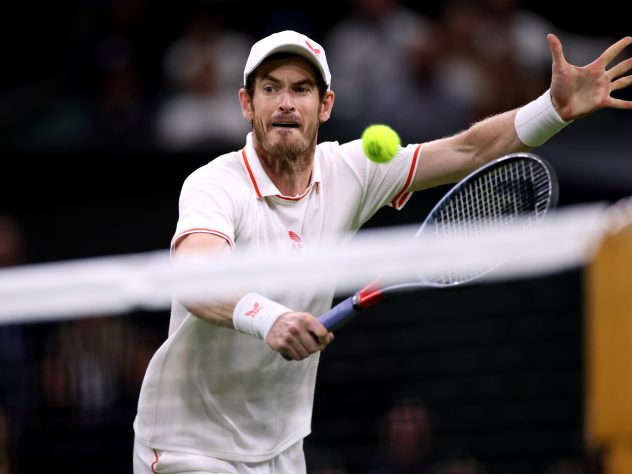 Andy Murray is ranked 101 in the world