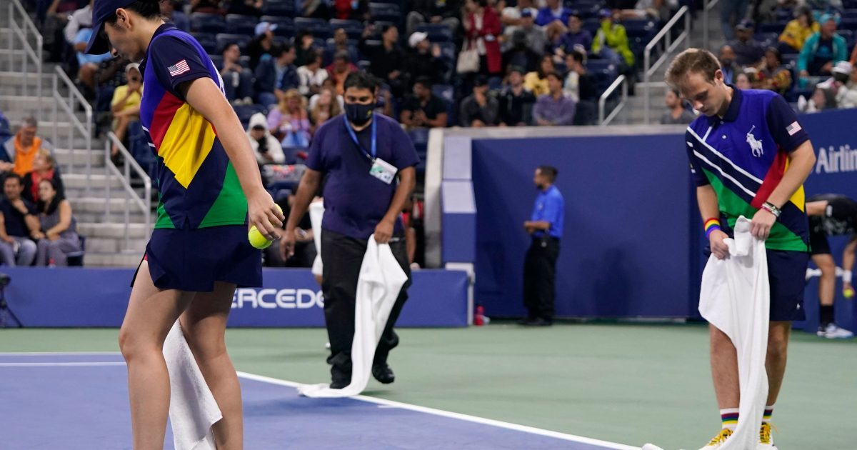US Open courts dried after New York downpour