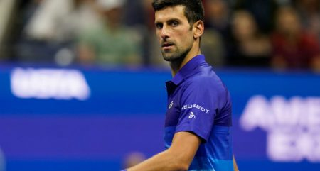 Novak Djokovic on the march