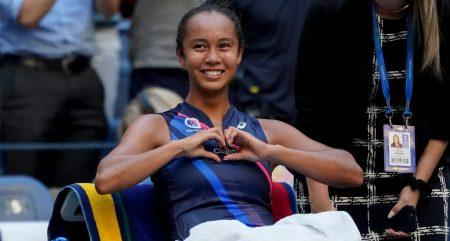 Delight for Leylah Fernandez