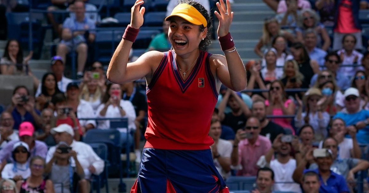 Emma Raducanu at US Open