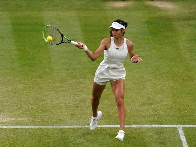 Emma Raducanu's rise began at Wimbledon