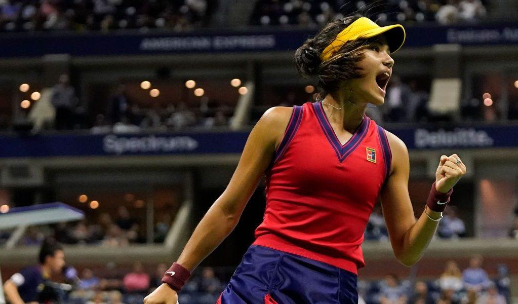 Delight for Emma Raducanu