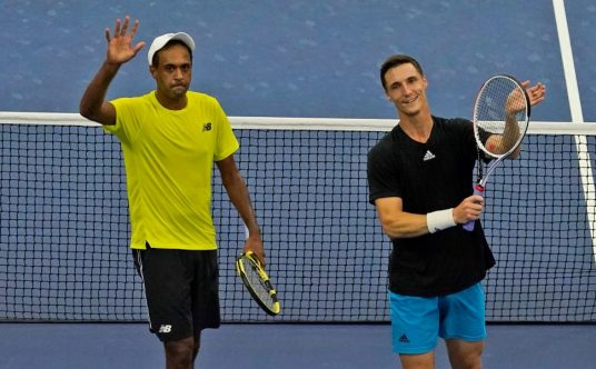 Rajeev Ram and Joe Salisbury at the US Open