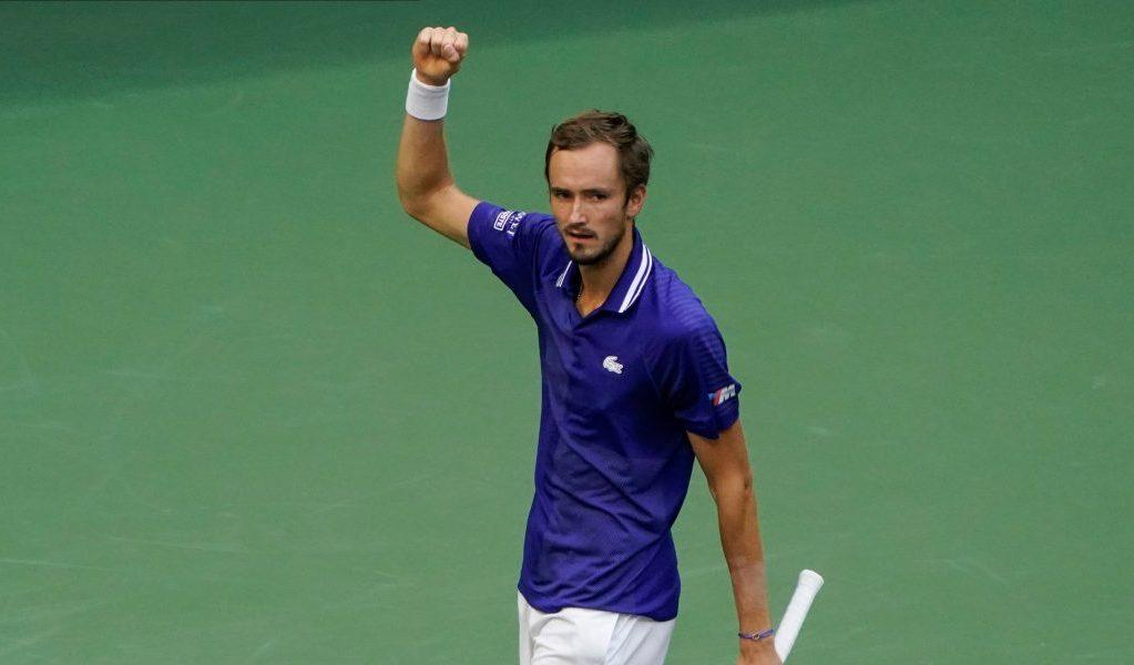 Victory for Daniil Medvedev