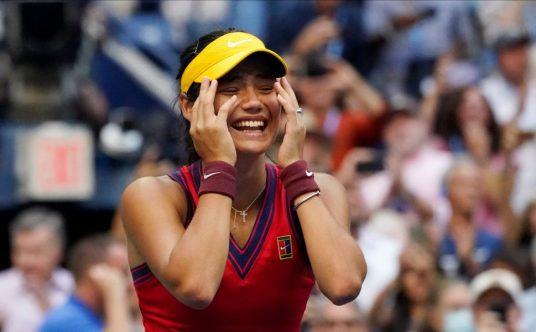 Pure joy for Emma Raducanu