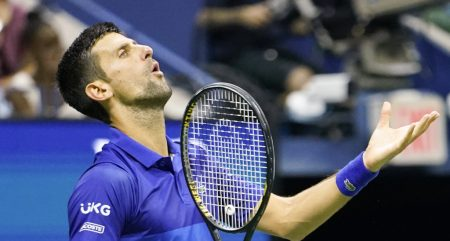 Novak Djokovic frustrations