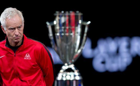 John McEnroe Laver Cup Team World captain