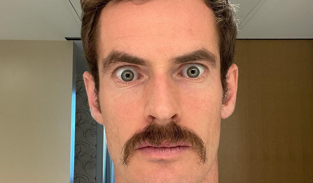 Andy Murray Instagram picture Ron Burgundy