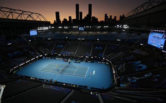 Melbourne Park - Australian Open general